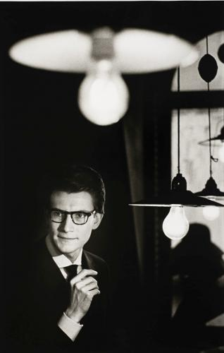 Pierre Boulat [1924-1998] Yves Saint Laurent 1961 [modern print ] Acquisition for the Fnac's photography collection: 2002