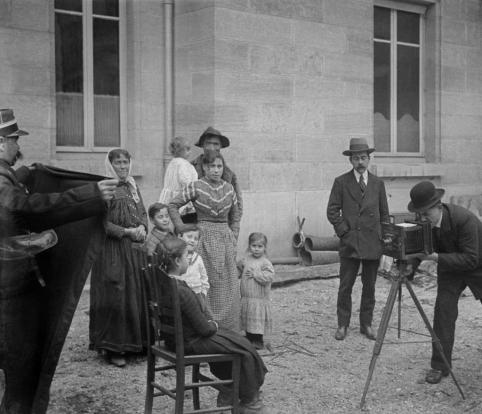 Brigade des gitans, Dijon Anonymous, France, between 1905 and 1910 © Musée Nicéphore Niépce