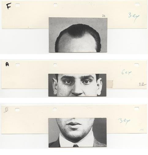 / Photofit Anonymous, France, circa 1960 © Musée Nicéphore Niépce