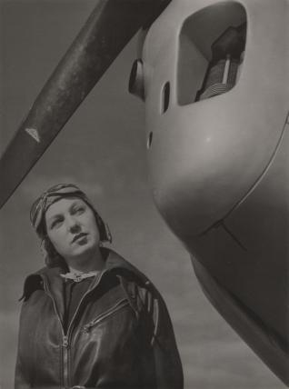5.	André Steiner, Aviation, 1935, tirage argentique, Don Nicole Bajolet © Nicole Bajolet - Steiner