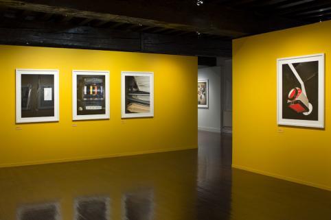 vue de l'exposition Michel Campeau © musée Nicéphore Niépce