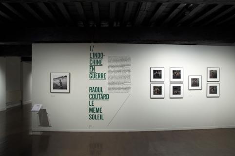Raoul Coutard, vue de l'exposition