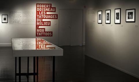 Robert Doisneau, vue de l'exposition
